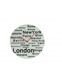 Nástenné hodiny – svetové mestá