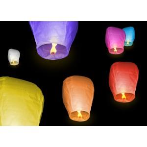 Lietajúce lampióny