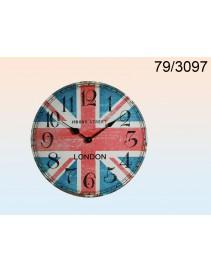 Drevené hodinky retro