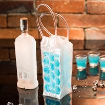 Darčeky - Fľašový chladič - modrý
