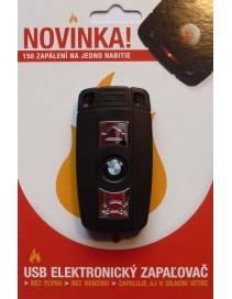 Darčeky - USB Elektronický Zapaľovač v tvare BMW kľúča