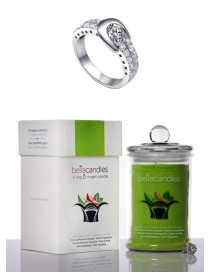 Luxusná sviečka - Jablková štrúdľa - Veľká