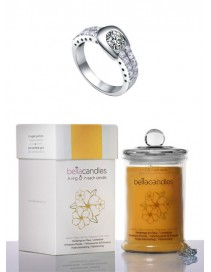 Luxusná sviečka - Jarný rozkvet