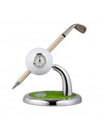 Golfové hodiny s perom