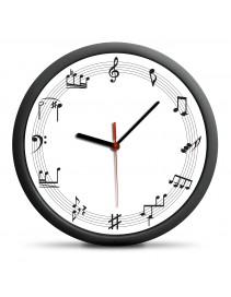Nástenné hodiny pre hudobníkov