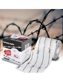 Toaletný papier - Ostnatý drôt