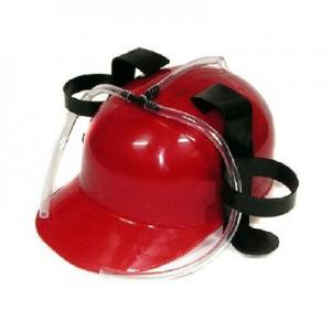 Pivná helma červená
