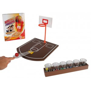 Alkoholový basketbal + 6 pohárikov