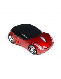 Myš Super autíčko - červené