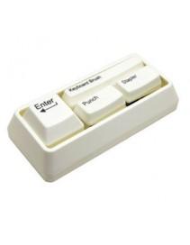 Kancelárska klávesnica - biela