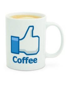 Darčeky - Facebook hrnček - Coffe