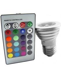 LED žiarovka na diaľkové ovládanie