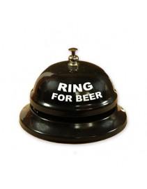 Stolný zvonček na pivo