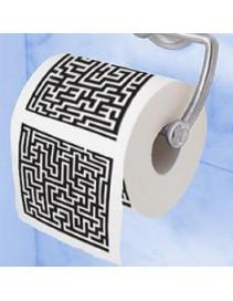 Toaletný papier labyrint
